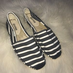 Soludos classic canvas espadrille flats size 6